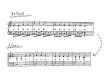 一人ひとりに合わせた楽譜アレンジドレミコーデ